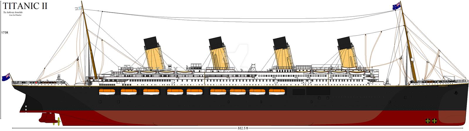 Titanic II By Fallout Brony On DeviantArt
