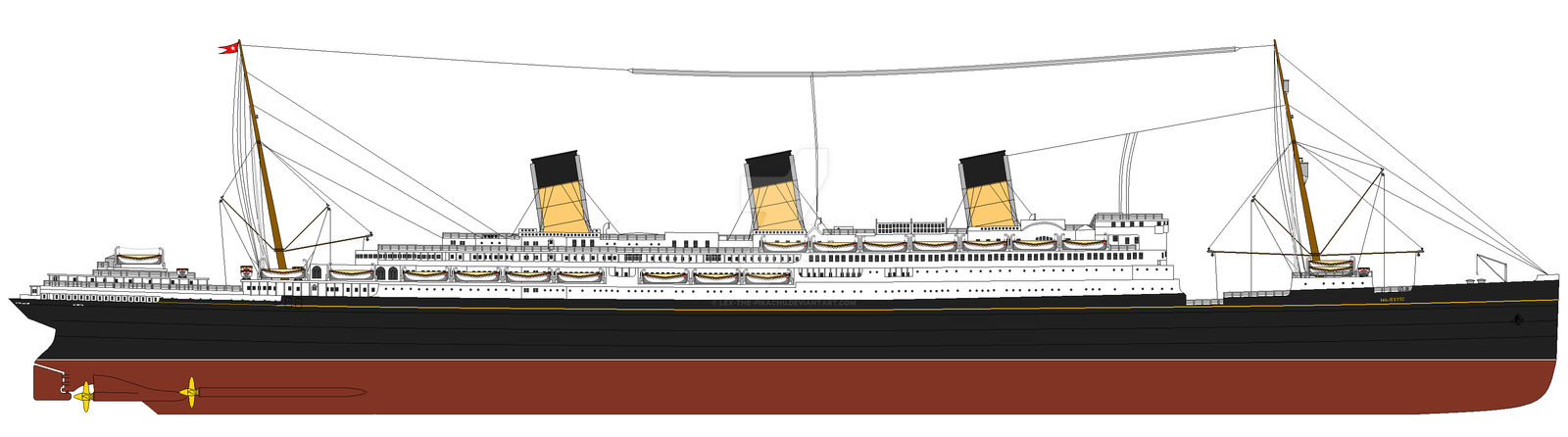 RMS Majestic WIP 10