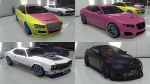 GTA Online Pony Cars