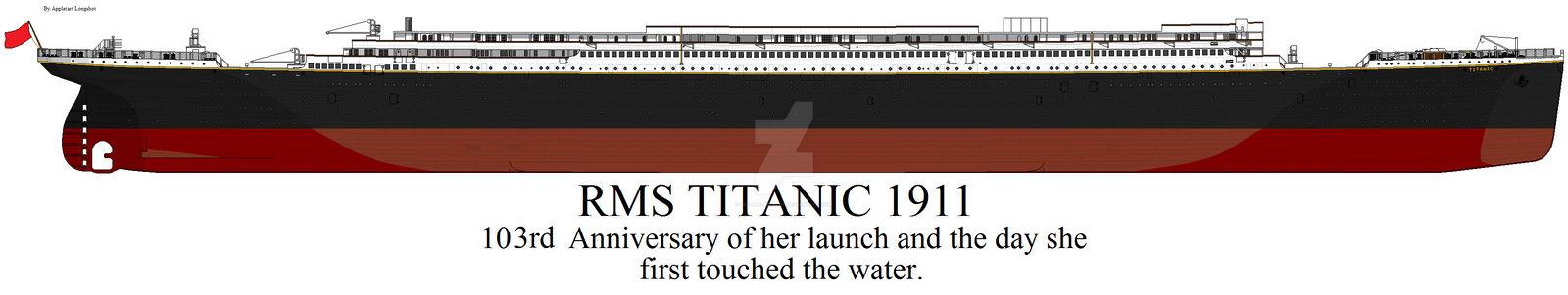 Launch Day Titanic