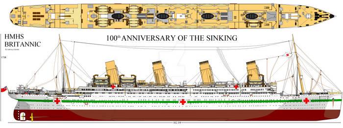 HMHS Britannic 100th Anniversary