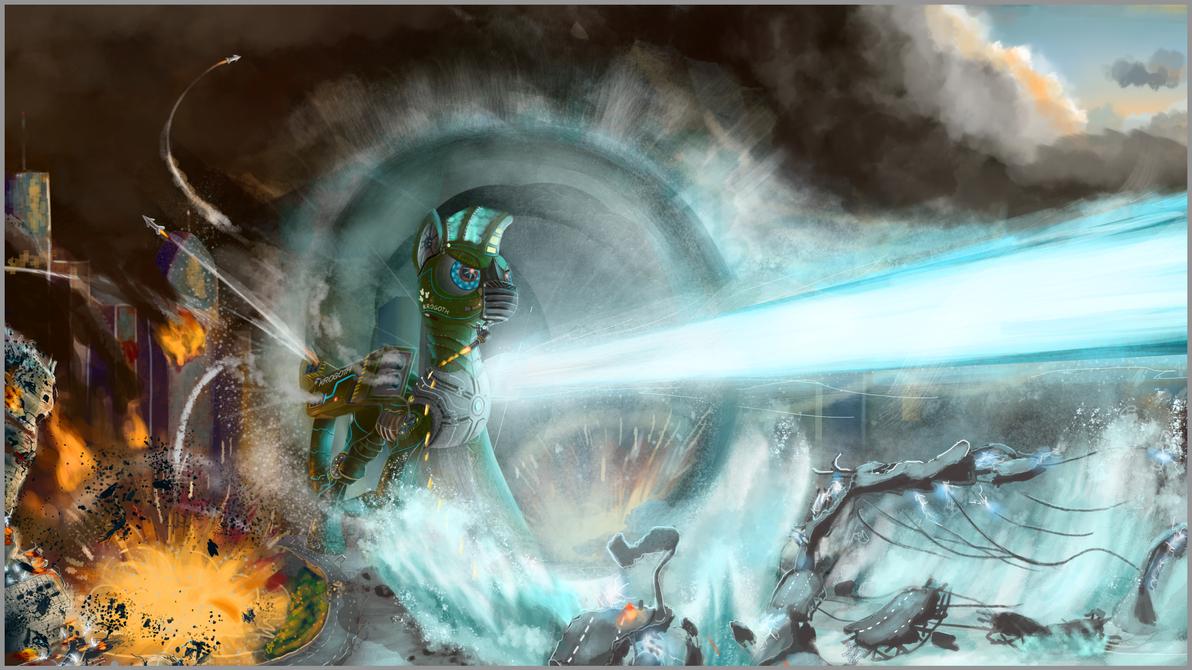 Krogoth Encounter by Crystal-Eclair