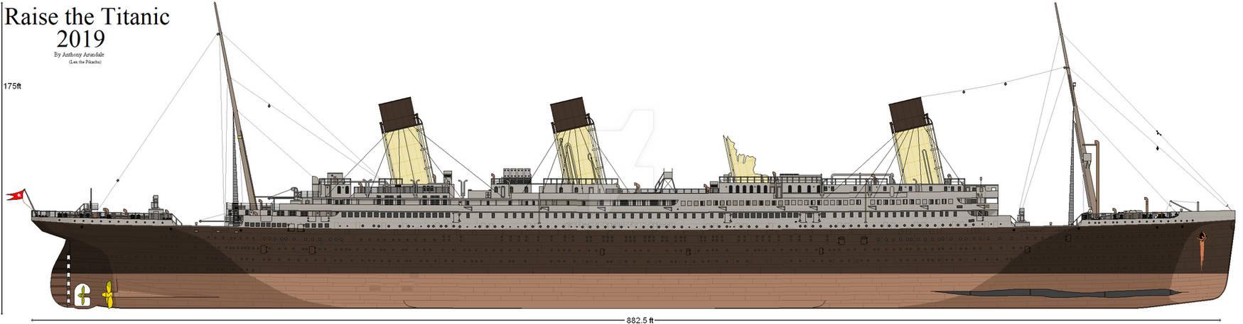 Raise the Titanic 2019