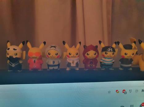 Cosplay Pikachu Team Set