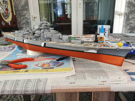 Revell 1/350 scale Bismarck