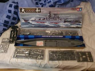 Tamiya 1/350 IJN Yamato my next Project
