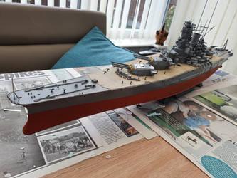 Tamiya 1/350 IJN Yamato 78030