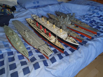 My 1/350 scale Fleet 2021