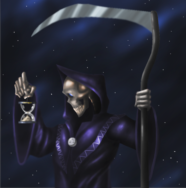 Death with a capital D by Lordstevie