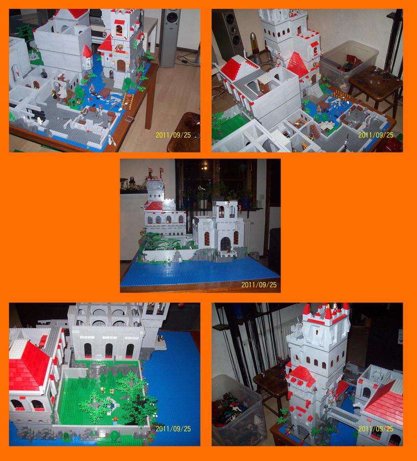The lego castle by Lordstevie