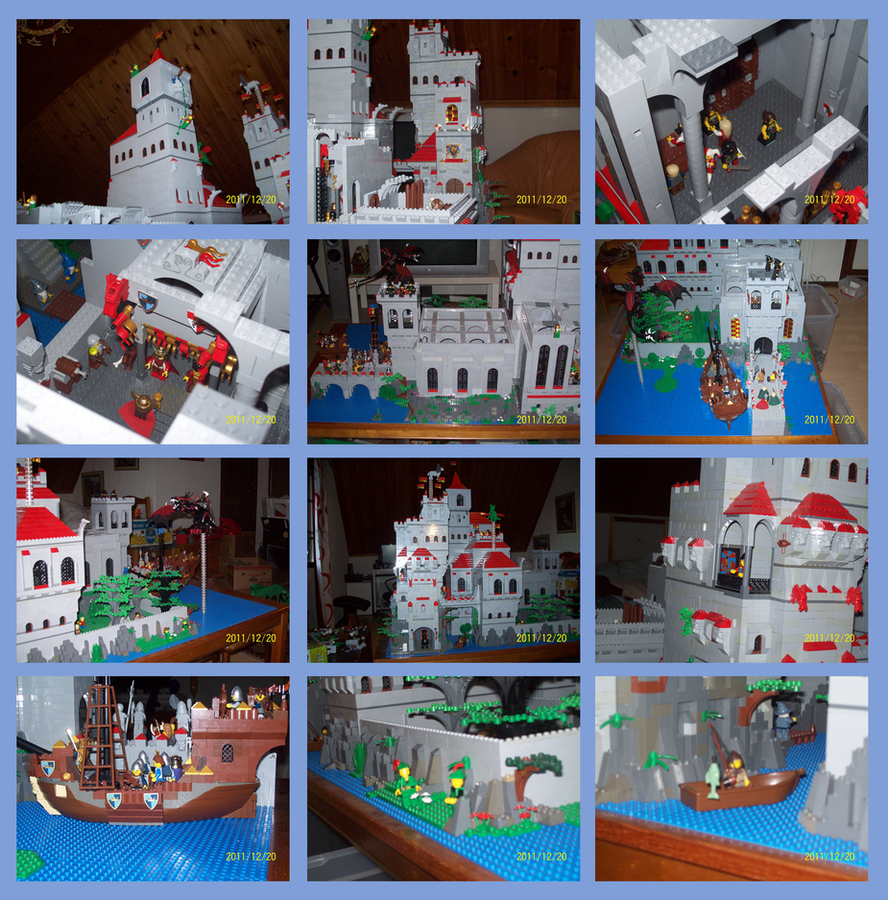lego castle update by Lordstevie