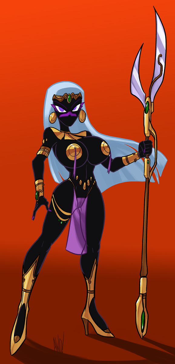 martian queen commission by Lordstevie