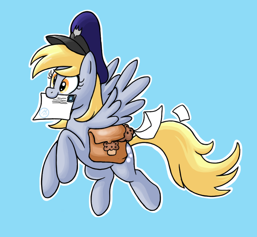 derpy delivers by Lordstevie