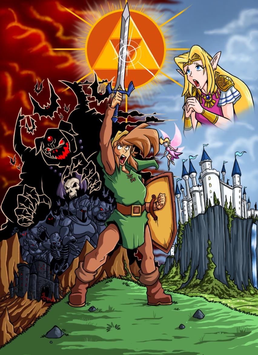 legend of Zelda by Lordstevie