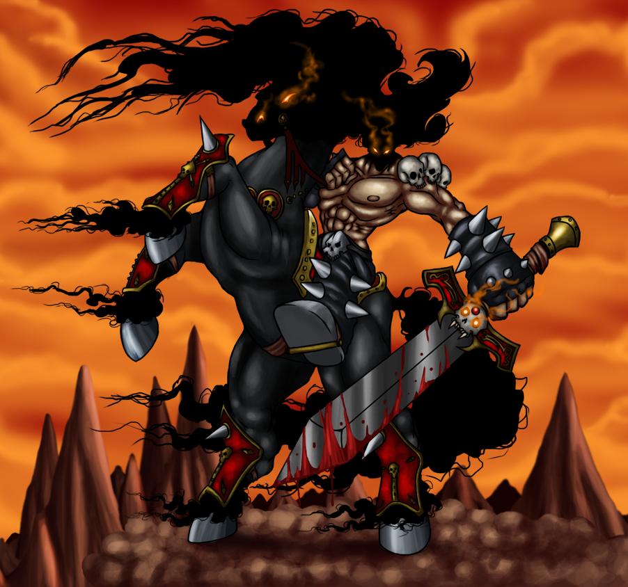 Dark Avenger by Lordstevie