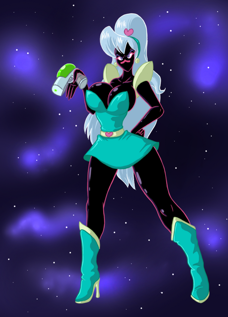 Thyranee the space ace by Lordstevie
