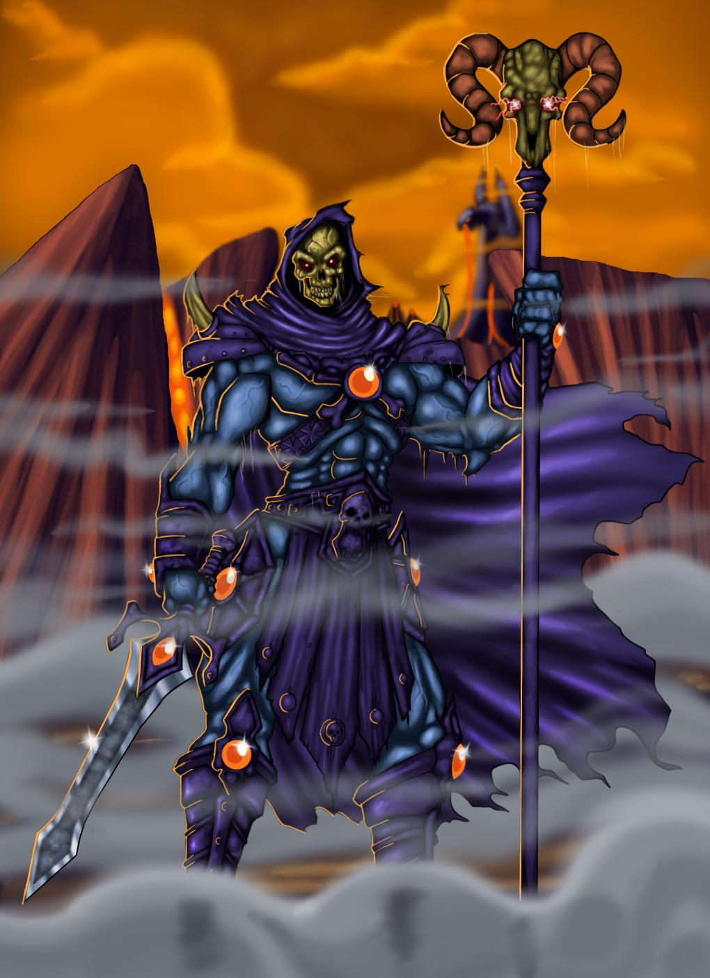 Skeletor by Lordstevie