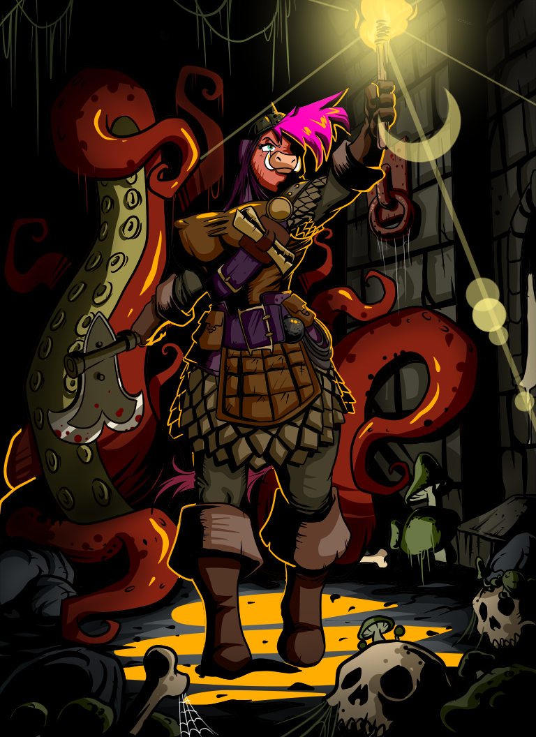 Into the Darkest Dungeon by Lordstevie