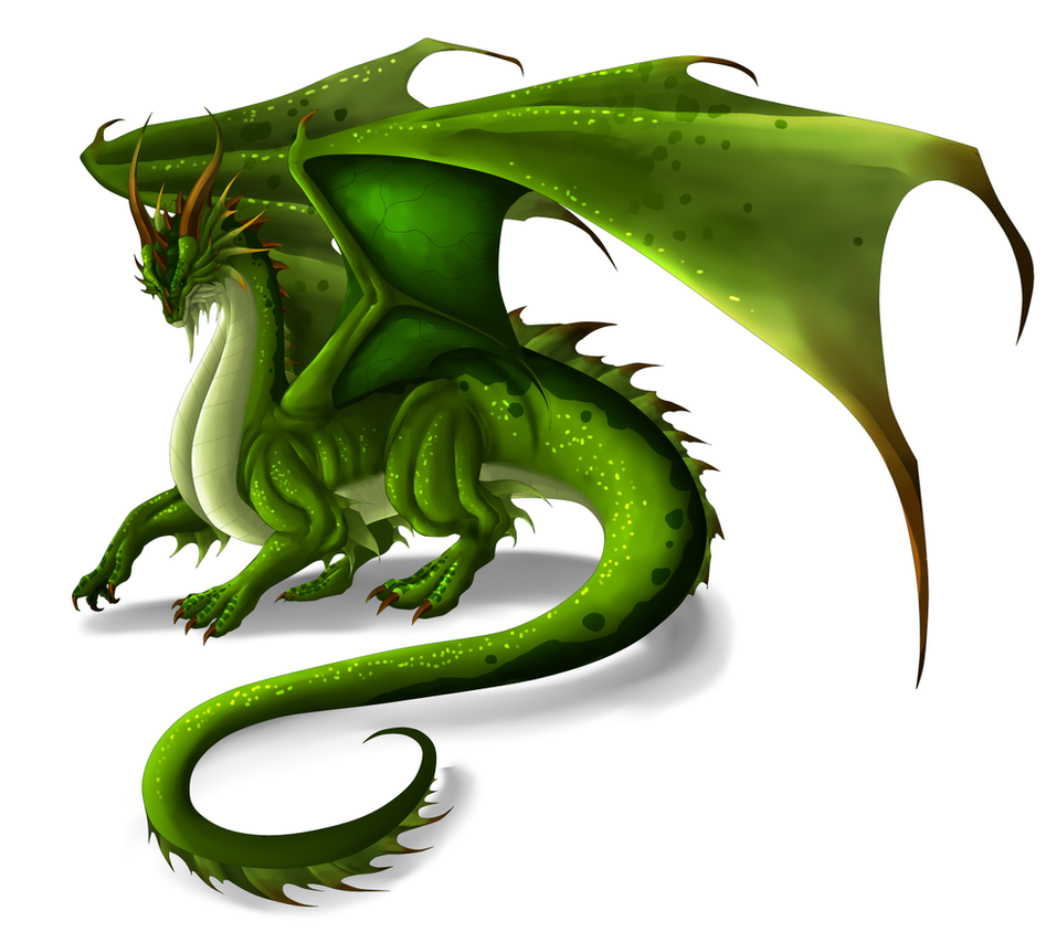 Green Dragon by Lordstevie