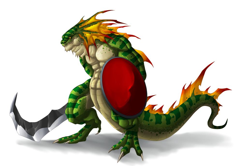 Lizardman by Lordstevie