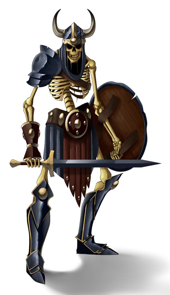 Skeleton by Lordstevie