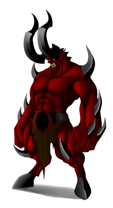 Barbarus Demon by Lordstevie
