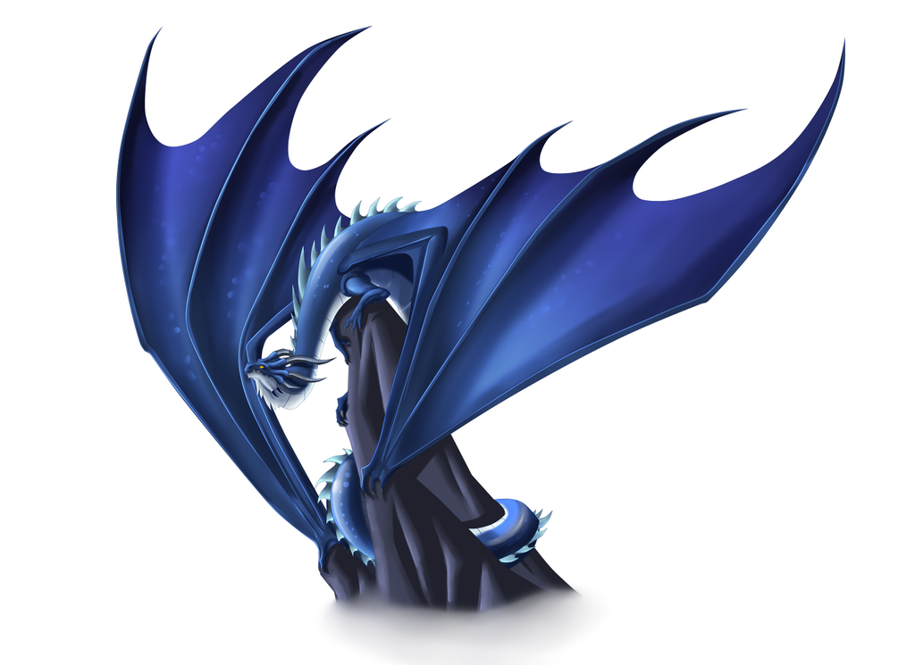 Dragon Blue by Lordstevie