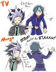Anime vs Manga - Yuto and Shun