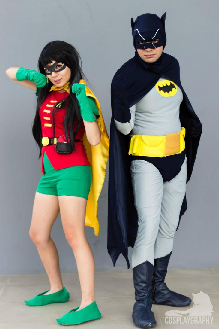 Batman and Robin by DallenaD