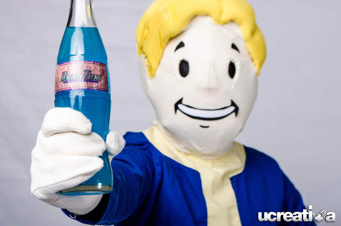 Drink some Nuka-Cola Quantum by DallenaD