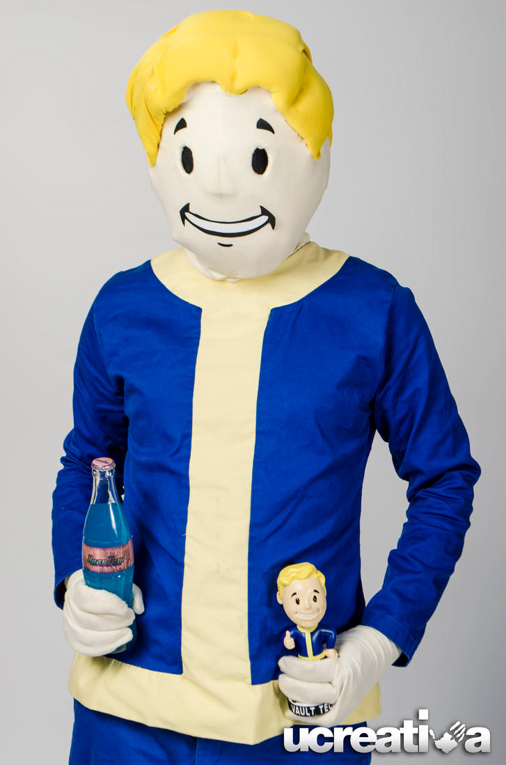 Fallout - Vault Boy by DallenaD