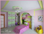 Room for little girl. View 2