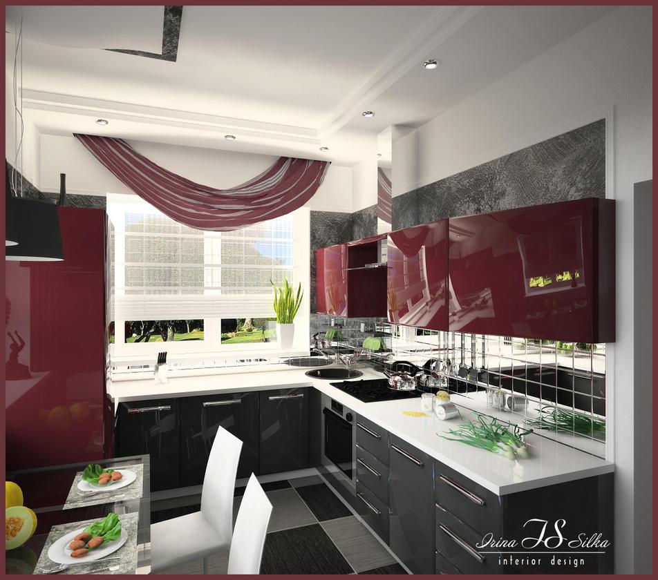 Кухня дизайн зона