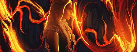 Elsa of fire by yToog