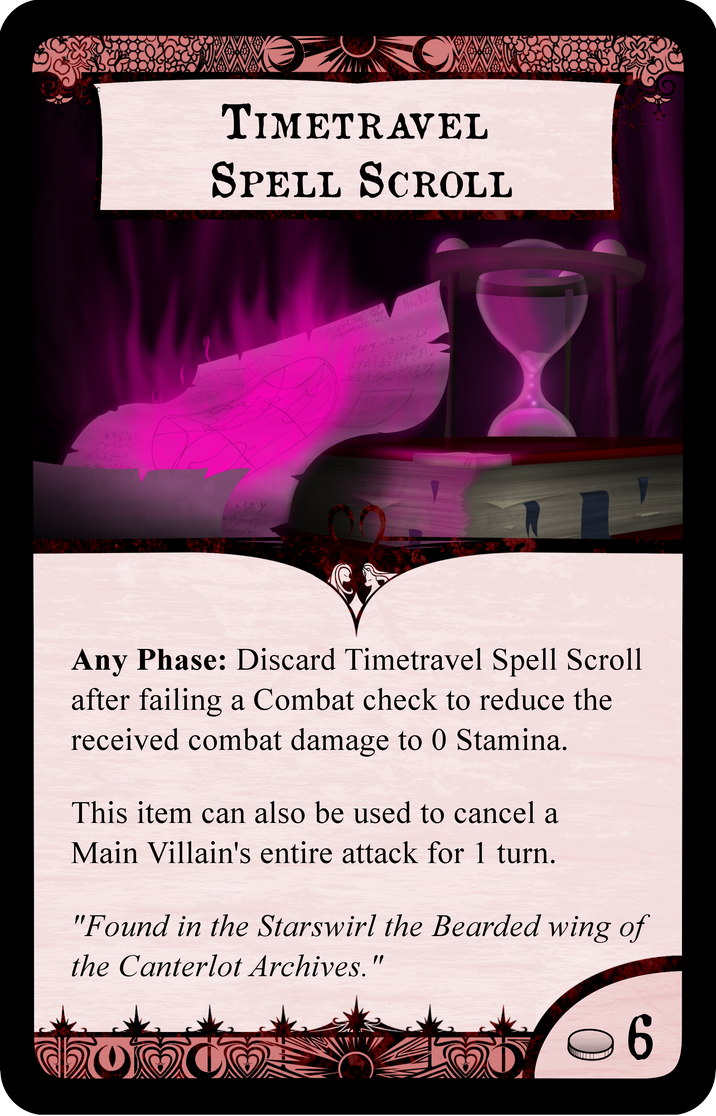 Timetravel Spell Scroll by Konsumo