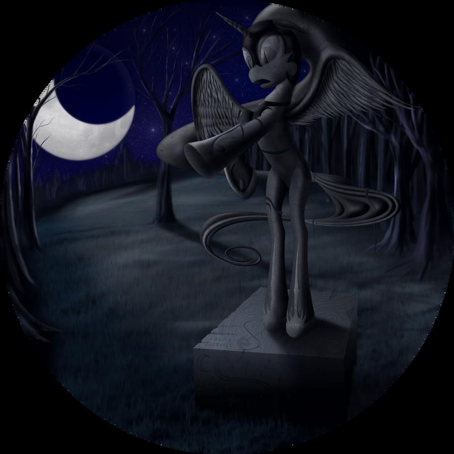 Shrine of Nightmare Moon by Konsumo