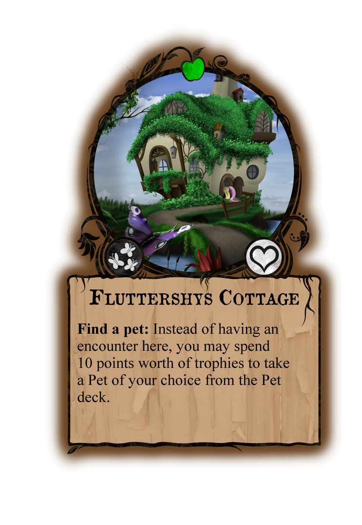 Fluttershys Cottage - Gameboard by Konsumo
