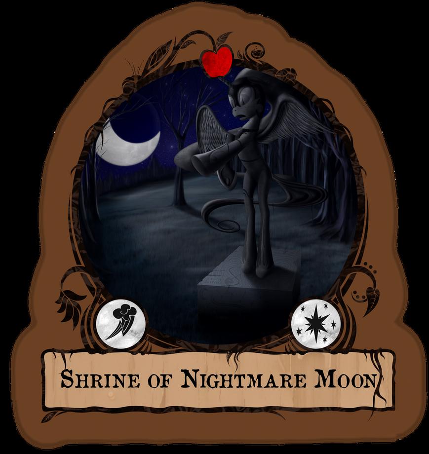 Shrine of Nightmare Moon - Gameboard by Konsumo