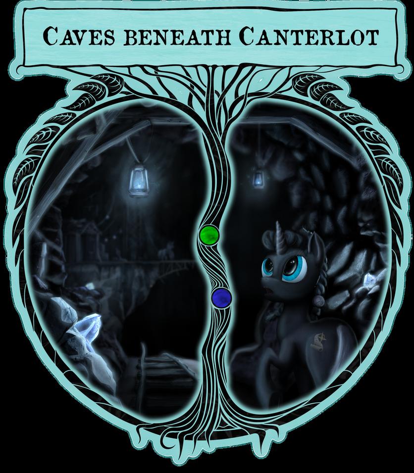 Caves beneath Canterlot by Konsumo