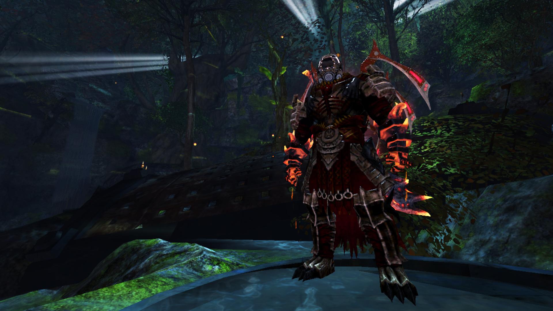 GW2 Character Scrnshts- Norn Warrior by StayUnnoticed on