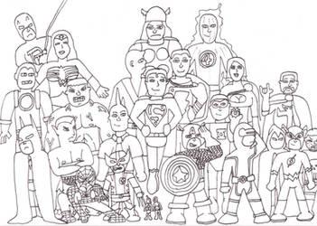 Marvel DC Group 001