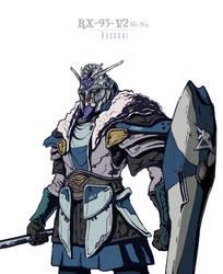 RX-93. Gundam Viking by ThaiTrieu