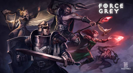 [Commission artwork] Force Grey