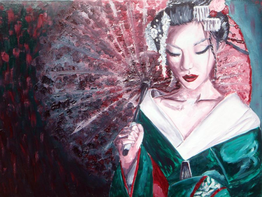 Diary of a geisha panel