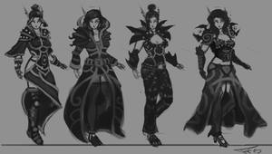 Elf armor designs