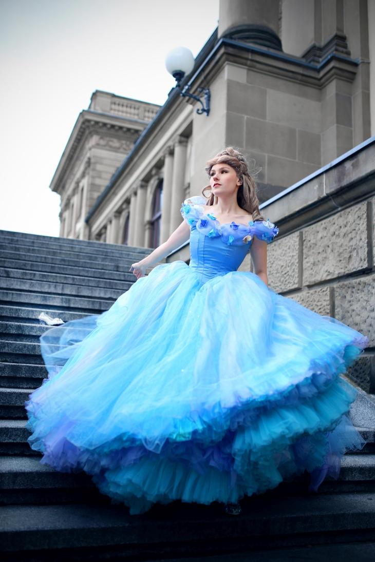 Cinderella  live action 2015 by flockenschnitte