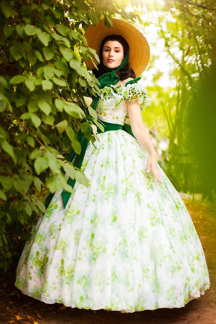 Scarlett Ohara by flockenschnitte