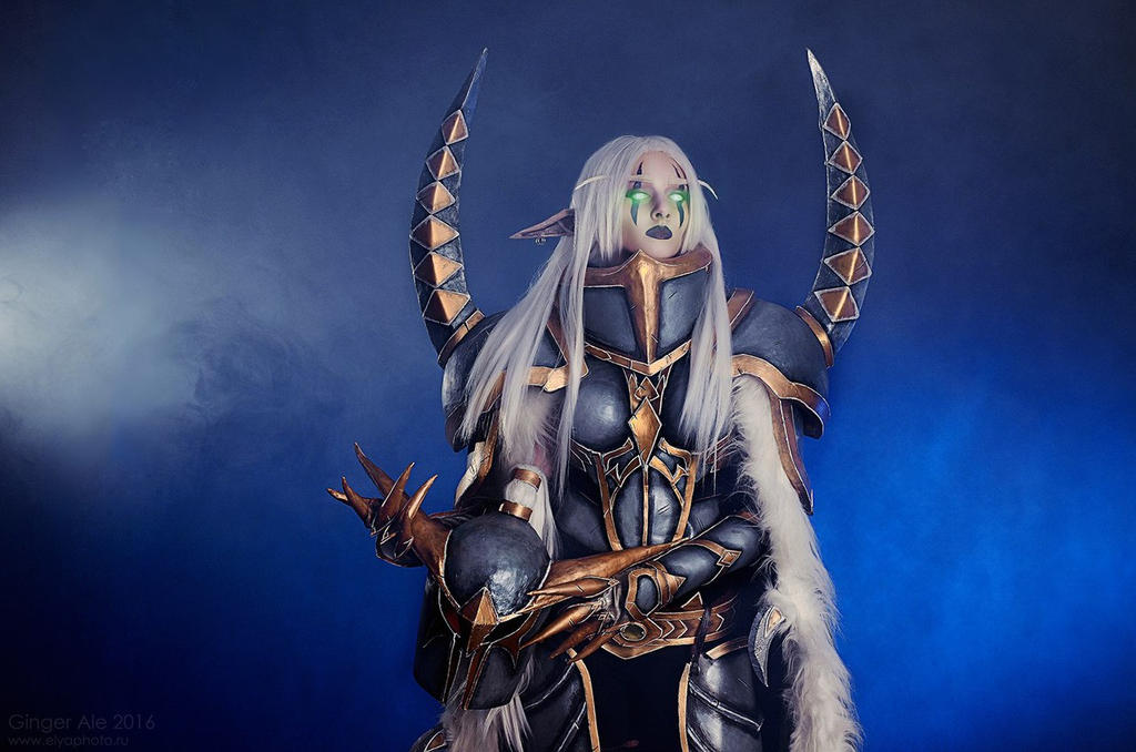 Maiev Shadowsong From World Of Warcraft By Katyakeller On