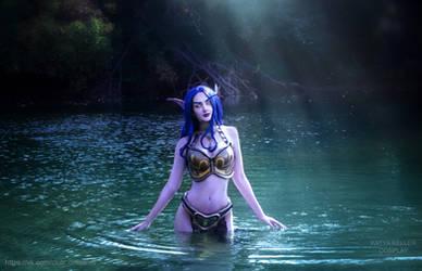 Shandris - Warcraft by KatyaKeller