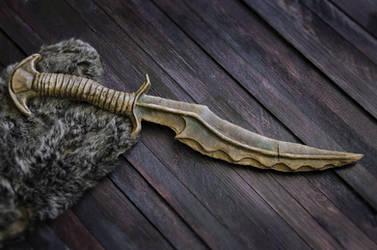 The Dragon Priest Dagger from Skyrim by KatyaKeller